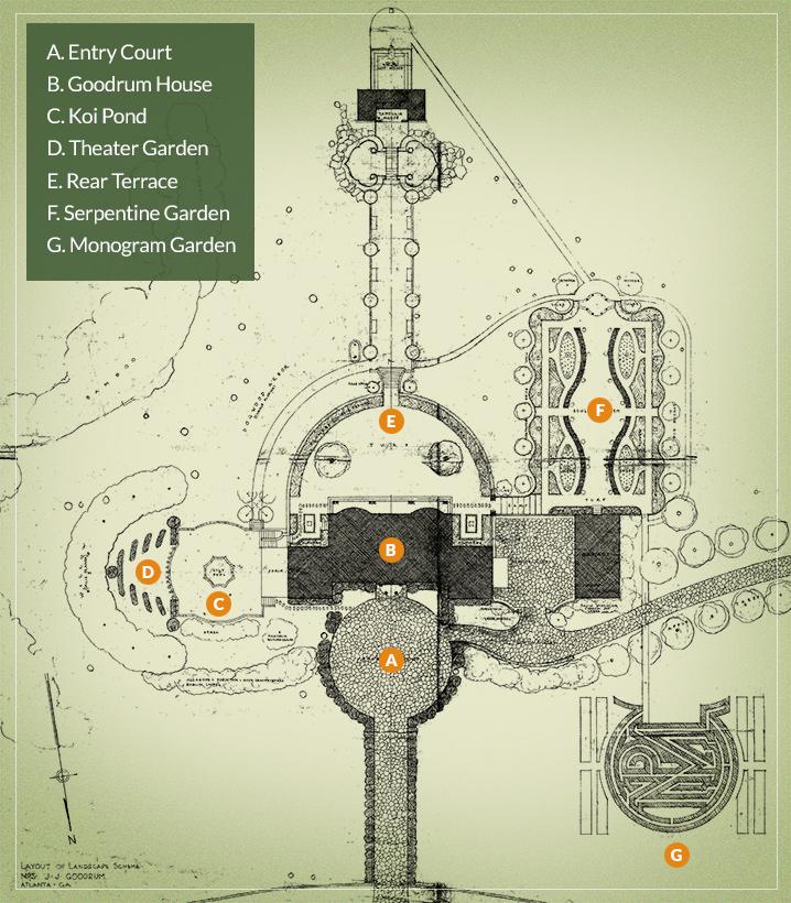 Goodrum Estate Map