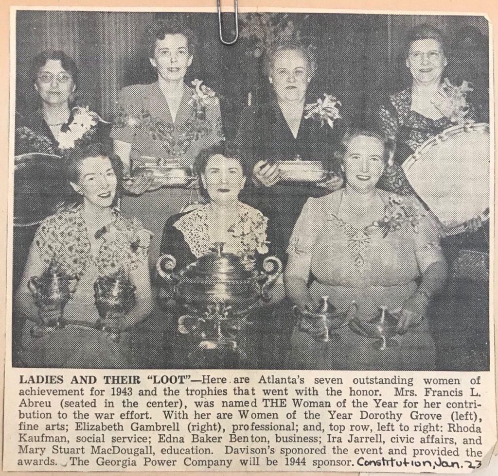 Atlanta Constitution, January 23, 1944